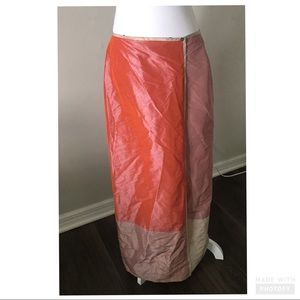 Margaret O'Leary Wrap Skirt Size Small